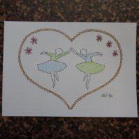 Väritettävät kortit