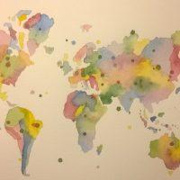 Maailma akvarelli