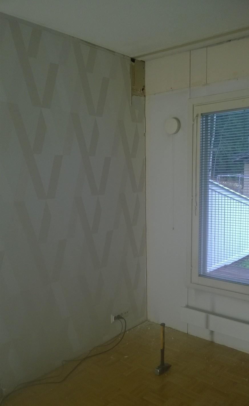 Olohuone ennen remonttia